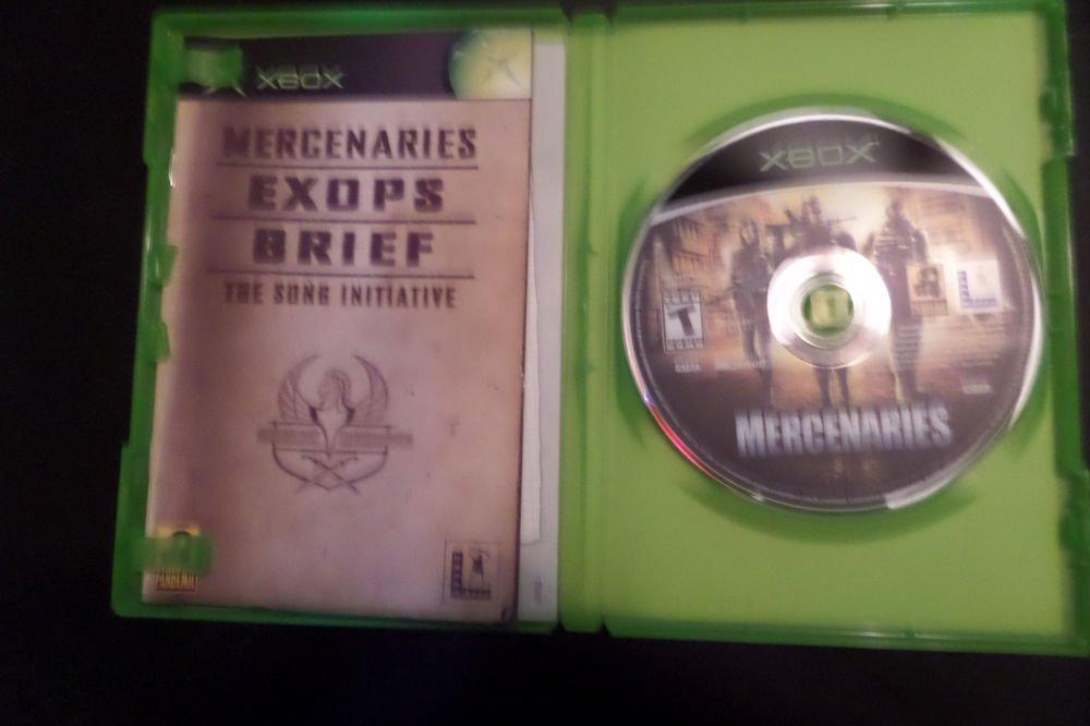 Mercenaries: Playground of Destruction (Microsoft Xbox, 2005)