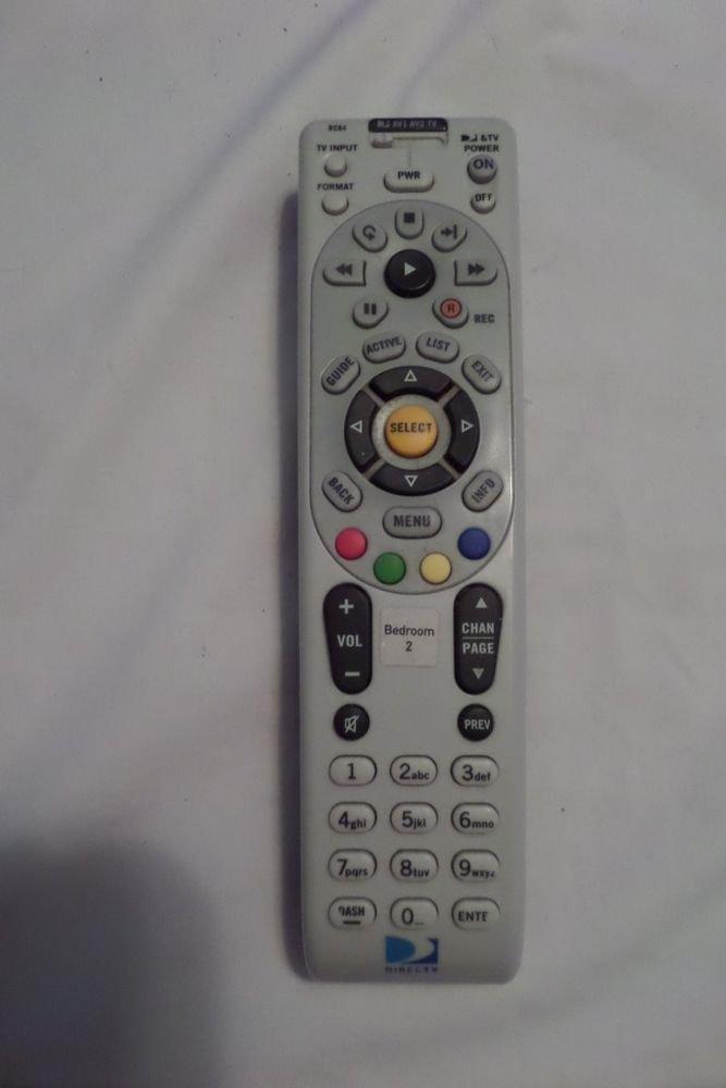 DirecTV Universal Remote Control RC64
