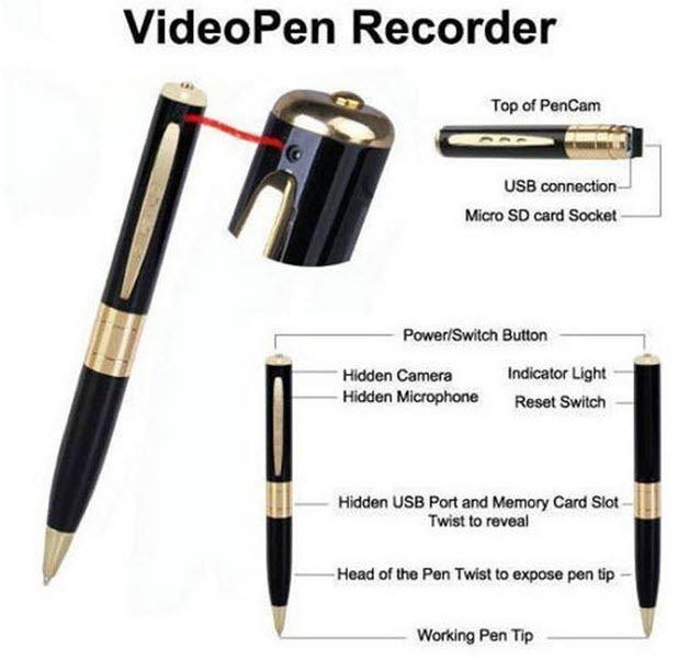 Mini USB DVR Spy Pen Camera HD Video Hidden DVR  Camera Camcorder Recorder Cam