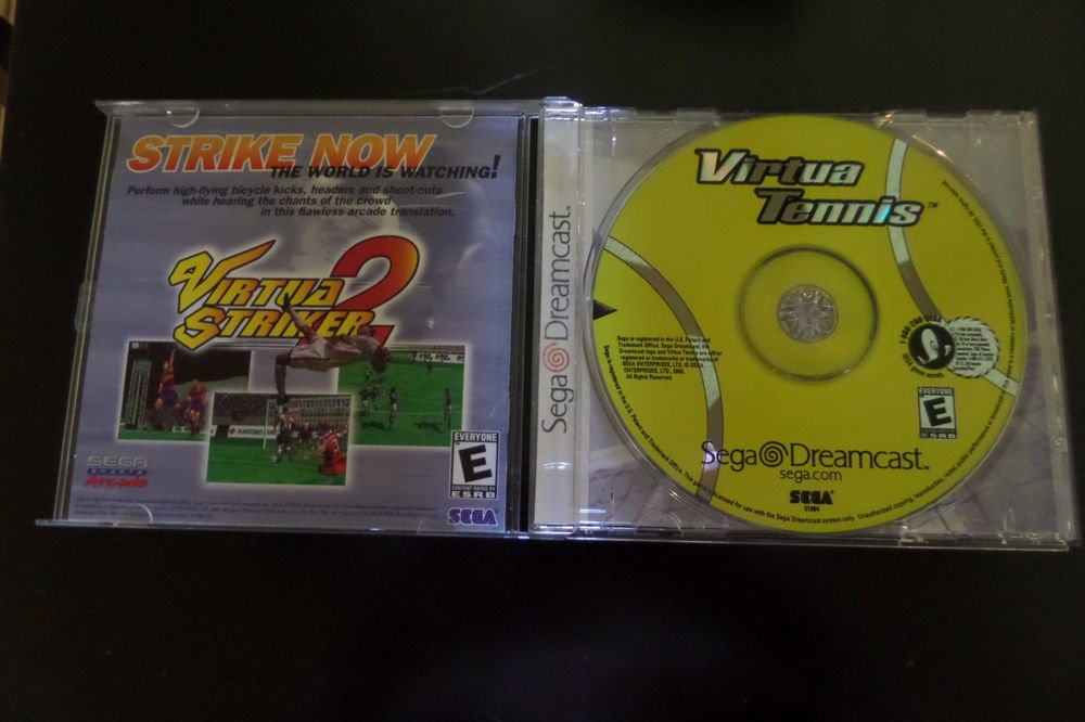 Virtua Tennis (Sega Dreamcast, 2000)
