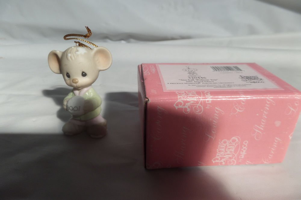 Precious Moments 2001 Annual Edition Snow-ball Without You 520446