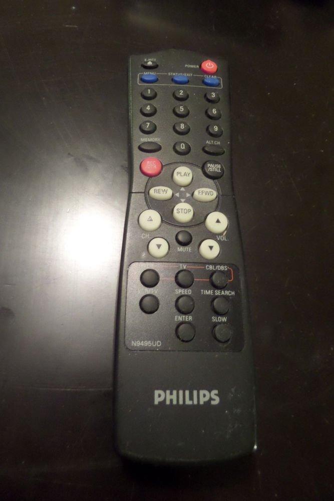 Genuine Philips N9495UD VCR Remote