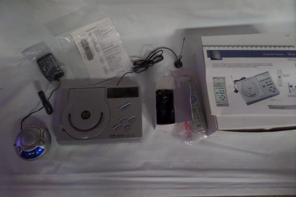 RF System Lab Hertz Medical Office Wireless DVD Transmitter System $650 Retail