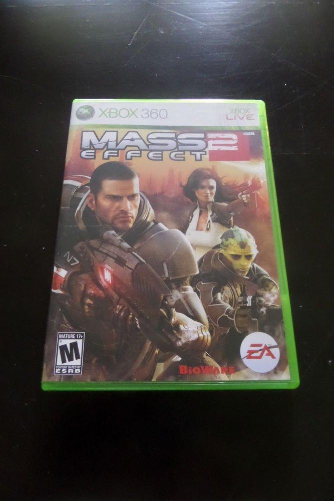 Mass Effect 2 (Microsoft Xbox 360, 2010)