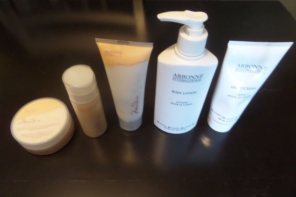 Arbonne Mandarin Cashmere Body Whip, Body Lotion, Hand Cream, Body Scrub, Mousse