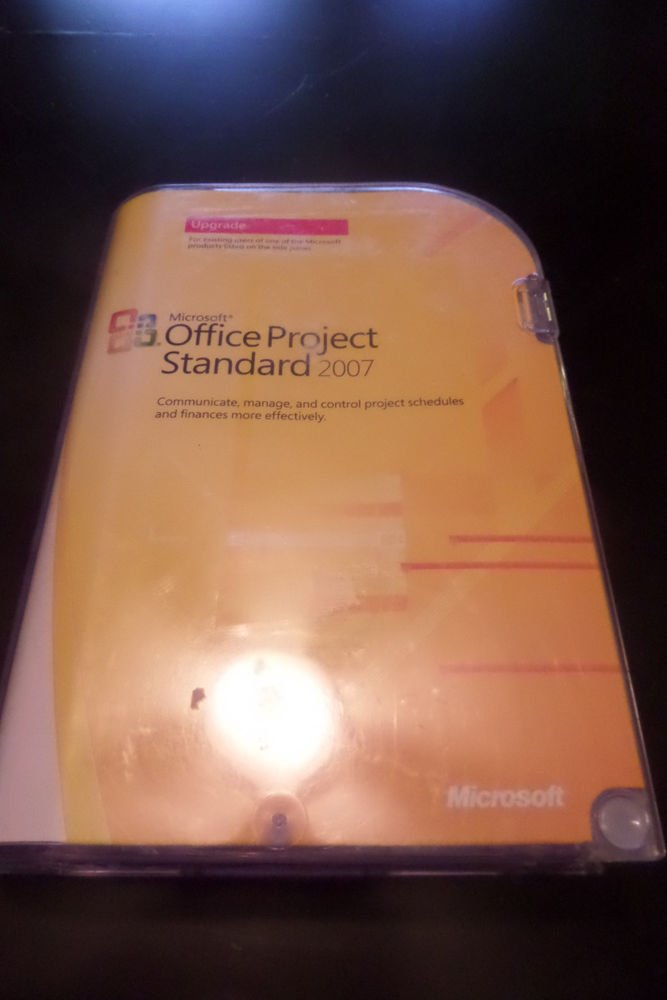 Microsoft Office Project Standard 2007 Upgrade with key