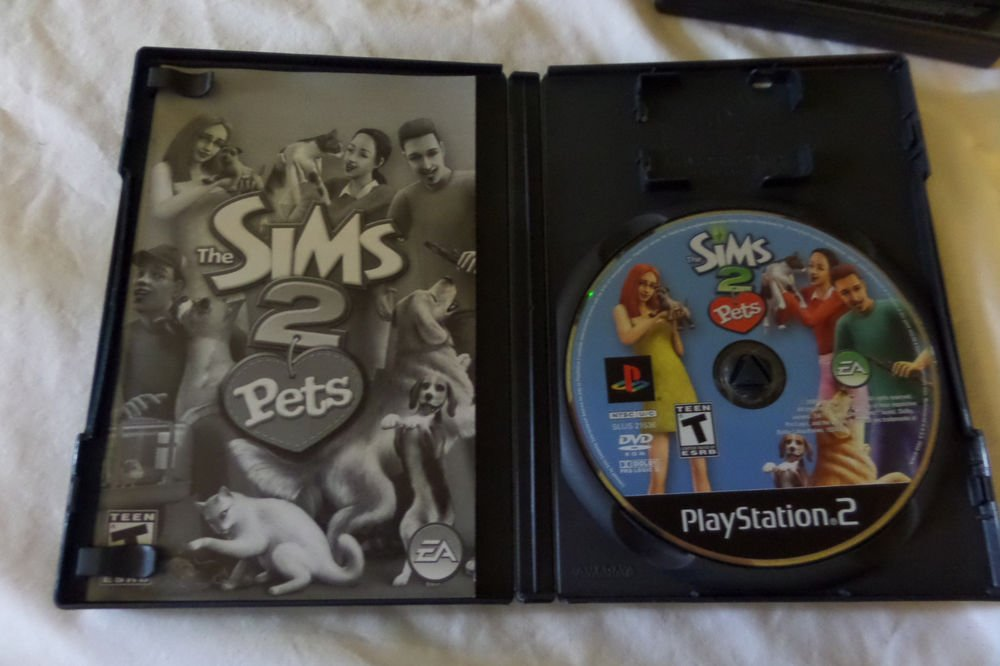 Sims 2: Pets (Sony PlayStation 2,