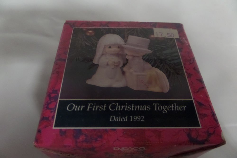 Precious Moments Our First Christmas Together Special 1992 Issue 528870