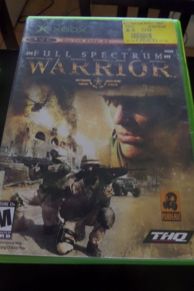 Full Spectrum Warrior  (Xbox, 2004)