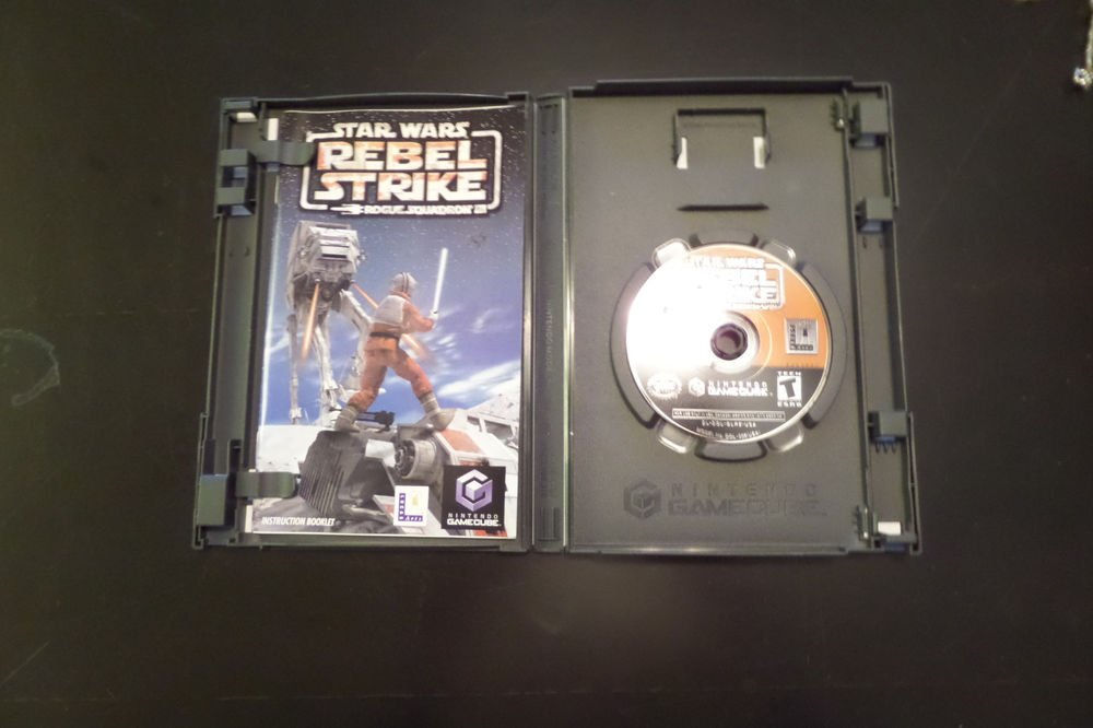 Star Wars: Rebel Strike -- Rogue Squadron III (Nintendo GameCube, 2003)