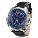 ** Men's Watch Auto-Mechanical Dress Watch Calendar Leather Band ** DISCOUNTED