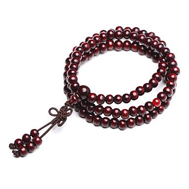 ** Men's Red Sandalwood Bracelet **