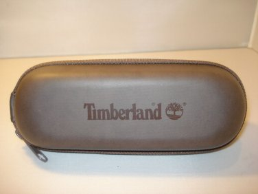 AUTH NEW TIMBERLAND EYEGLASSES  SUNGLASSES ZIPPERED CASE BROWN