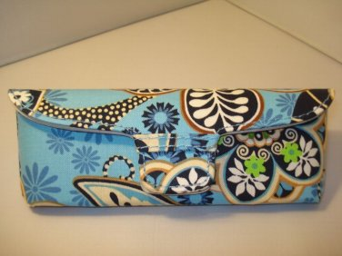 AUTH NEW VERA BRADLEY EYEGLASSES SUNGLASSES  HARD CASE BALI BLUE # 09