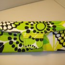 AUTH NEW VERA BRADLEY EYEGLASSES SUNGLASSES HARD CASE LIMES UP #08