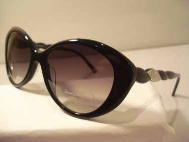 AUTH NEW TOMMY BAHAMA LADIES SUNGLASSES NAUTI GIRL 7039 BLACK PLASTIC w CASE