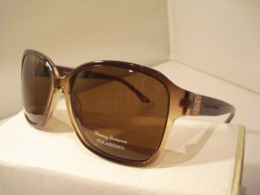AUTH NEW TOMMY BAHAMA SUNGLASSES TB 7025 BROWN FADE LADIES PLASTIC POLARIZED