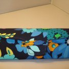 AUTH NEW VERA BRADLEY EYEGLASSES SUNGLASSES  HARD CASE MIDNIGHT BLUES # 11