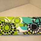 AUTH NEW VERA BRADLEY EYEGLASSES SUNGLASSES HARD CASE LIMES UP #16