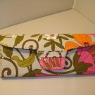 AUTH NEW VERA BRADLEY EYEGLASSES SUNGLASSES HARD CASE TEA GARDEN # 23