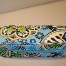 AUTH NEW VERA BRADLEY EYEGLASSES ZIPPERED CASE BALI BLUE # 30
