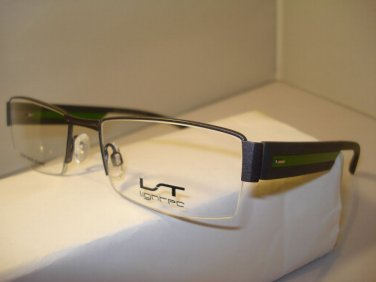 AUTH NEW MARIUS MOREL LIGHTEC EYEGLASSES 7142L GUNMETAL SEMI RIMLESS GV030