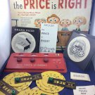 Vintage 1958 The Price Is Right Board Game Lowell Toy Manufacturing Corp