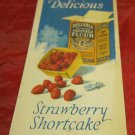 vintage Reliable Flour shortcake recipe booklet~circa 1920's~FREE US SHIPPING