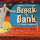 Break the Bank board game~1955~Dodge auto presents~vintage~trivia~FREE US SHIP