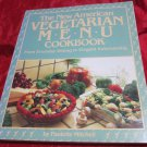 The New American Vegetarian Menu Cookbook~cook book~FREE US SHIPPING