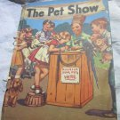 The Pet Show by Marjorie Barrows vintage 1944 children's book fun illustrations