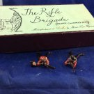 The Rifle Brigade Prince Consort's Own Mark Time Figures Toy Soldiers London