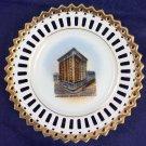 Vintage Onondaga Hotel Syracuse Ny Souvenir Plate Dish Germany