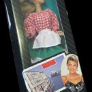 """Vanna White 11.5"""" doll~new in box~Italy edition red & white shirt HSC/HSN"""