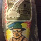 Vintage 1985 GI G.I. Joe 8 Hot Cold Cups Birthday Party Cups Decorations