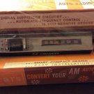 Vintage Sears FM Auto Radio Tuner AM Converter 50290 Signal Suppressor Circuitry