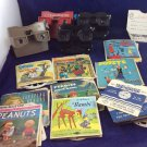 Viewmaster Lot 4 View Master Viewers Sawyer's GAF & 45 Reels