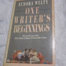 One Writer's Beginnings by Eudora Welty~Paperback book~FREE US SHIPPING