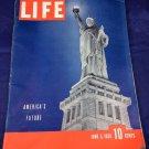 June 5 1939 Life Magazine World War II America's Future Statue Of Liberty