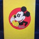 vintage Walt Disney Productions Mickey Mouse telephone address book new unused