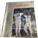 1983 New York Yankees vs Baltimore scorebook &souvenir program~Dave Winfield