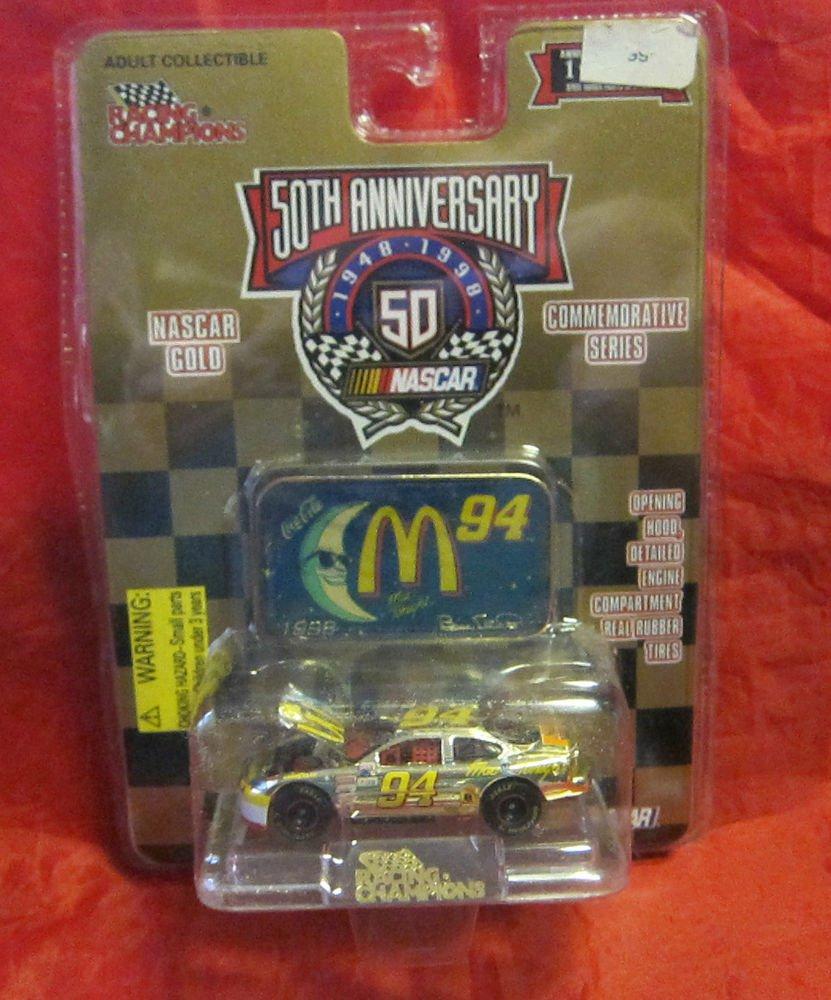 McDonald's Nascar 50th Anniversary Gold Series Racing Champions #94 die cast car