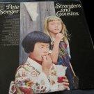Pete Seeger Strangers & Cousins vintage record LP vinyl album folk music
