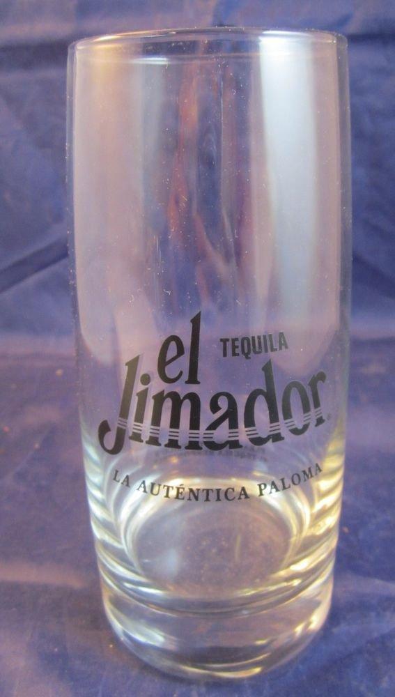 El Jimador Tequila cocktail glass La Autentica Paloma glasses