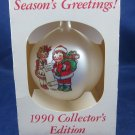 vintage 1990 Campbell Soup Kids Christmas Ornament in box Collector's Edition