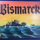 Bismarck Avalon Hill Vintage 1962 First Edition War Strategy Board Game 517