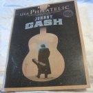 Johnny Cash Cover USA Philatelic Magazine 2Q 2013 w Stamp Centerfold Poster New!