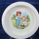 Vintage Campbell Soup Kitchen Bowl Dish by Buffalo Pottery