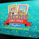 Archie Comic Cards~skybox~Box set~100+cards~comic book trading cards~freeUS ship
