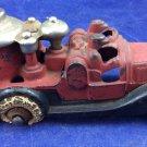 Hubley 1930s Cast Iron Car Fire Engine 2162 Antique Vintage Toy